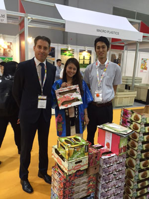 Noticia de Obeikan MDF en la feria Asia Fruit Logistica